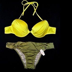 VICTORIA'S SECRET Swim Bikini Top 34B & Bottom S